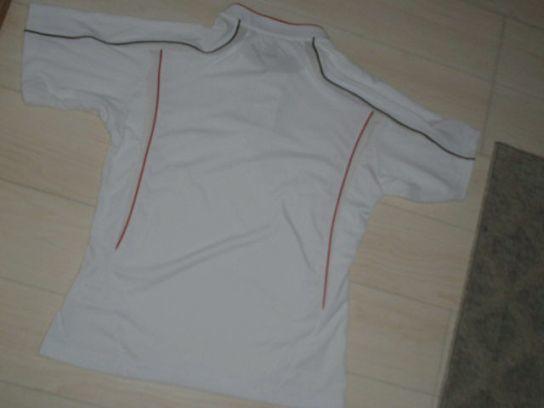 処分!新品ミズノ¥4000 Mizuno グローバルエリート ユニフォームシャツ ホワイトx襟ブラック サイズM_画像5