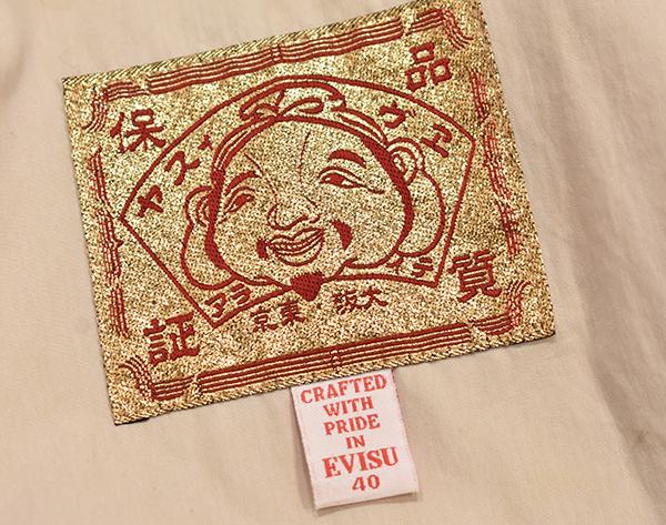EVISU エヴィス 総柄 モノグラム マウンテンパーカー 40_画像10