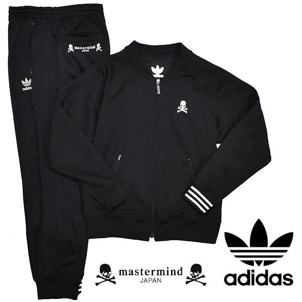 adidas Originals × mastermind セットアップ スカル ジャージ マスターマインド トラックジャケット パンツ Mサイズ