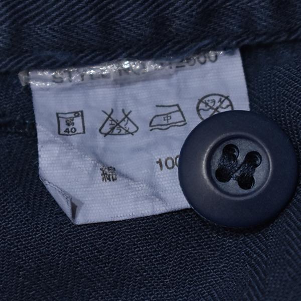 アヴィレックス 【AVIREX】 ワッペン 半袖つなぎ/ジャンプスーツ/オールインワン 紺/L_画像8