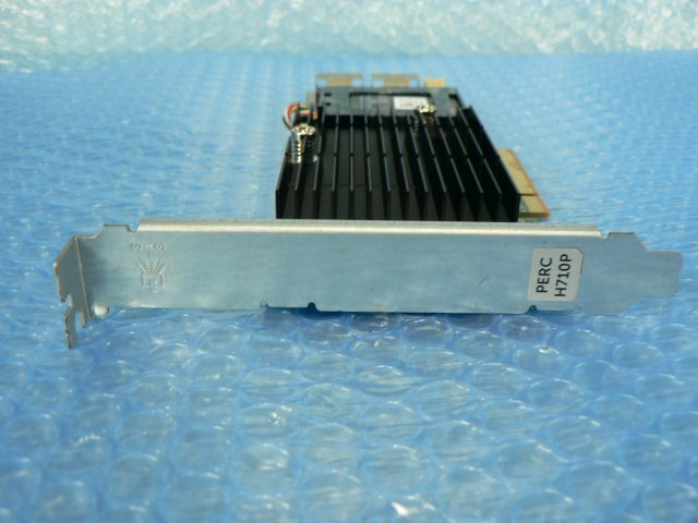 1FHW // DELL PERC H710P 07GCGT SAS RAID Adapter 1GB PCI-E 120mmブラケット (070K80) // Unisys ES3000 3530T G3 取外_画像6
