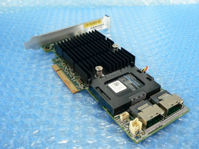 1FHW // DELL PERC H710P 07GCGT SAS RAID Adapter 1GB PCI-E 120mmブラケット (070K80) // Unisys ES3000 3530T G3 取外_画像7