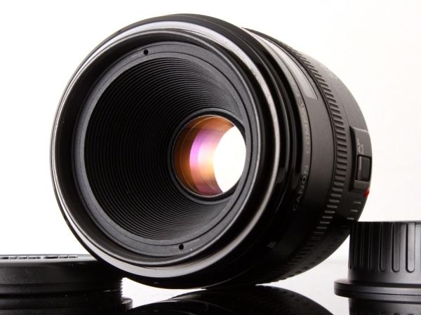 AB+ (良品) Canon キヤノン EF 50mm F2.5 コンパクトマクロ 点検済 初期不良100%返品OK! #a1754