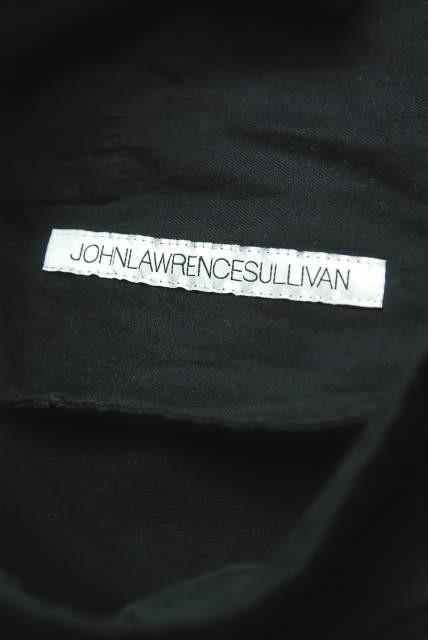 JOHN LAWRENCE SULLIVAN ジョンローレンスサリバン 17AW サイドラインジャージーパンツ 2B006-0217-25 M ブラック mc53731_画像3