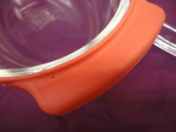 ◆イワキガラス アレンチン レンジココット アプリコットピンク 未使用 80サイズ_画像4