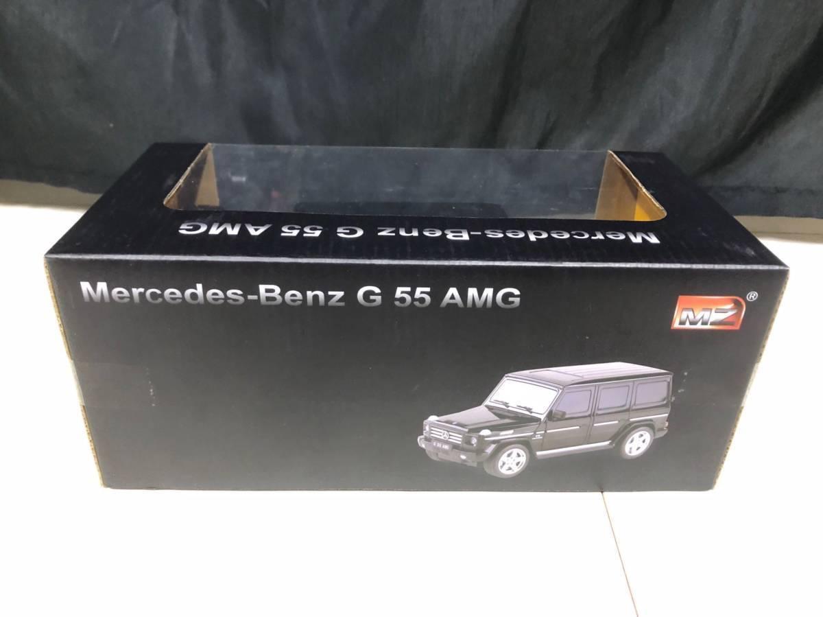 即決!! 1/24 メルセデスベンツ Gクラス ゲレンデバーゲン AMG G55 R/C ラジコン ブラック 未開封品_画像3