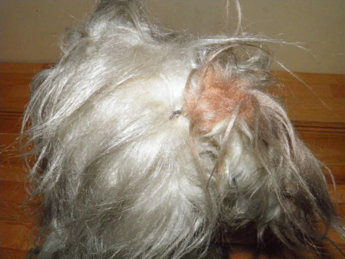 野良犬風? 犬のぬいぐるみ 高さ約34cm 創美社 ニチボー トイ ANIMAL POUPEE SOBISHA NICHIBO TOY 昭和レトロ 人形_画像9
