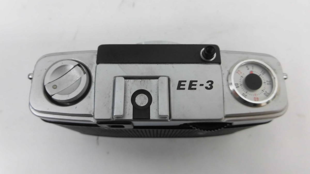 H1538棚21 OLYMPUS-PEN★オリンパスペン 【EE-3】 レンジファインダー D.Zuiko 1:3.5 f=28mm_画像4