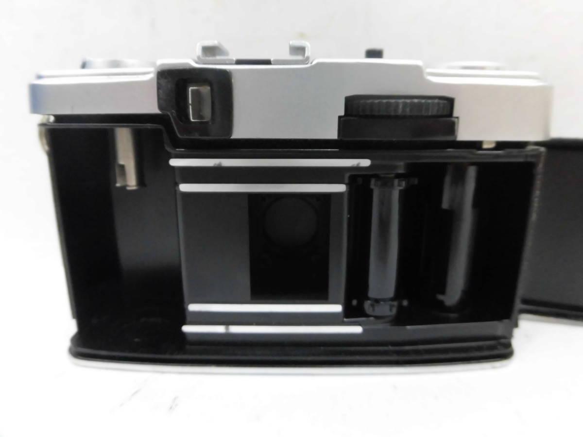 H1538棚21 OLYMPUS-PEN★オリンパスペン 【EE-3】 レンジファインダー D.Zuiko 1:3.5 f=28mm_画像6