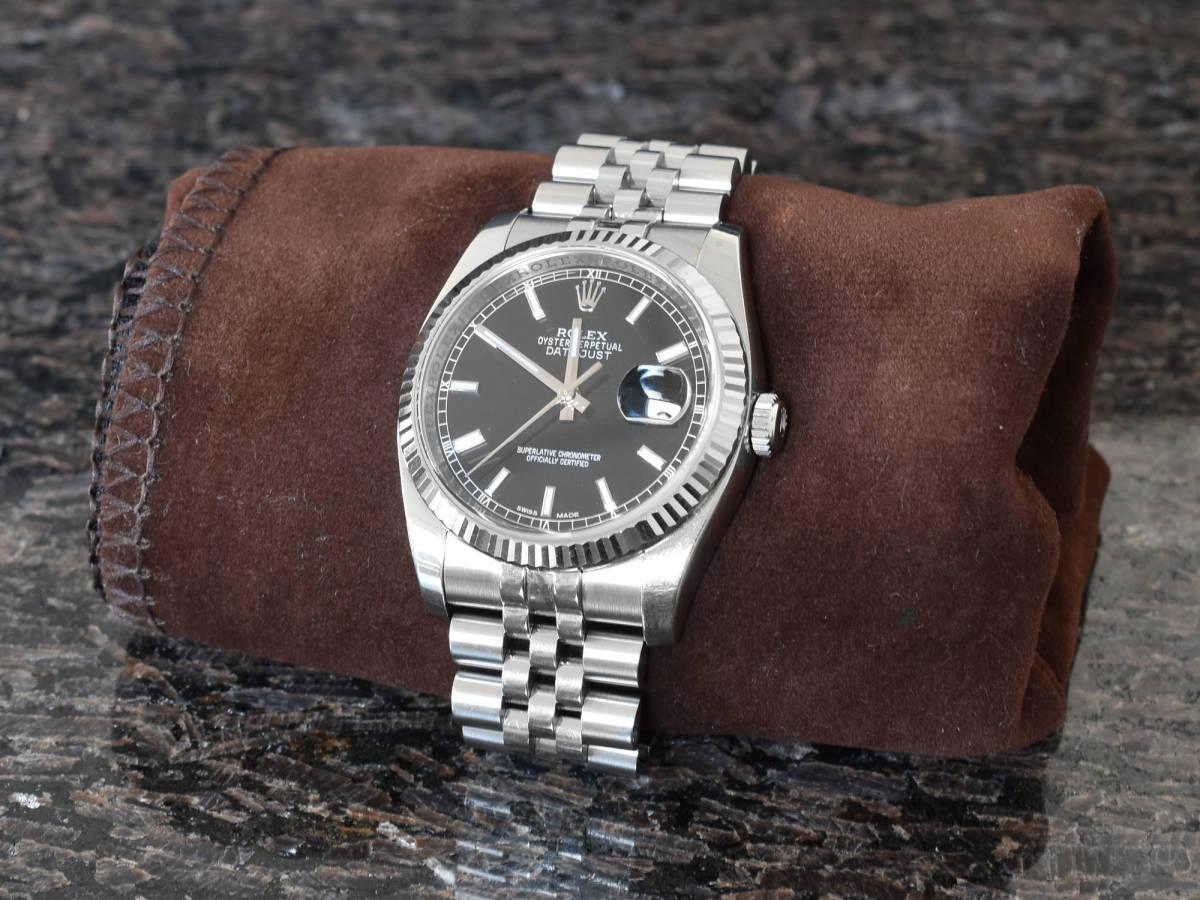 7d30a6cb1d00 代購代標第一品牌- 樂淘letao - ロレックス腕時計デイトジャスト36mm ボーイズサイズ