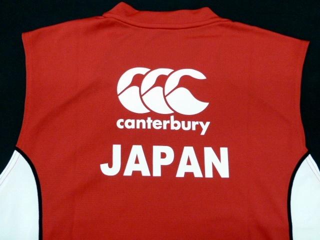 4L 新品 カンタベリー ラグビー日本代表 選手支給品 ジャパン ノースリーブ Tシャツ★タンクトップ★CANTERBURY JAPAN SLEEVELESS(STAFF)_画像6