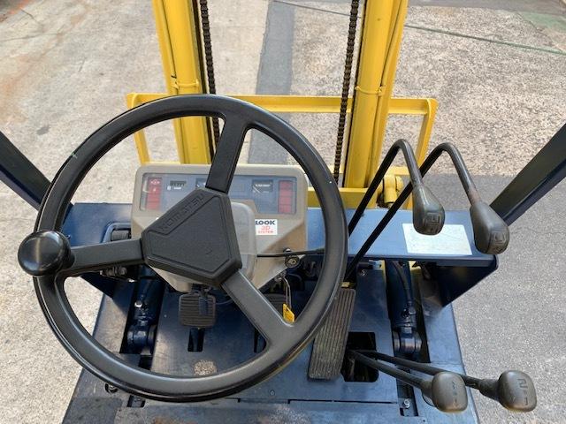 コマツ 中古フォークリフト ガソリン 1.5t FG15L-15 1.5トン格安! _画像7