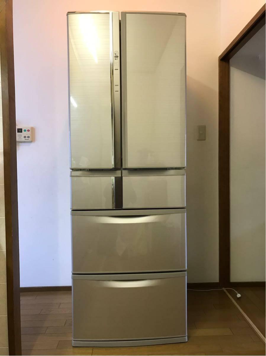 三菱 MITSUBISHI 観音開き 冷凍冷蔵庫 MR-R47Z-F1 465L 2016年