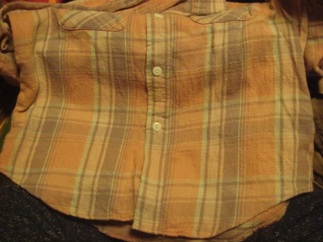 1903インパクティスケリーinpaichthys KerriワークWORK織り皿ボタン ネルシャツ フランネル_画像7