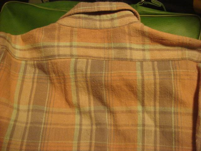 1903インパクティスケリーinpaichthys KerriワークWORK織り皿ボタン ネルシャツ フランネル_画像9