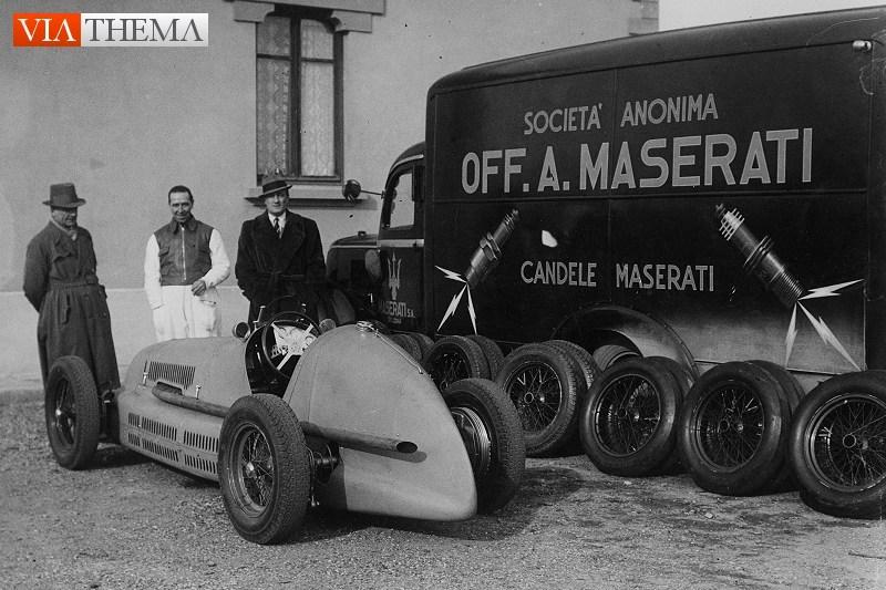1/43 バルニーニ キット 1939 マセラティ トランスポーター FIAT 621 _画像4