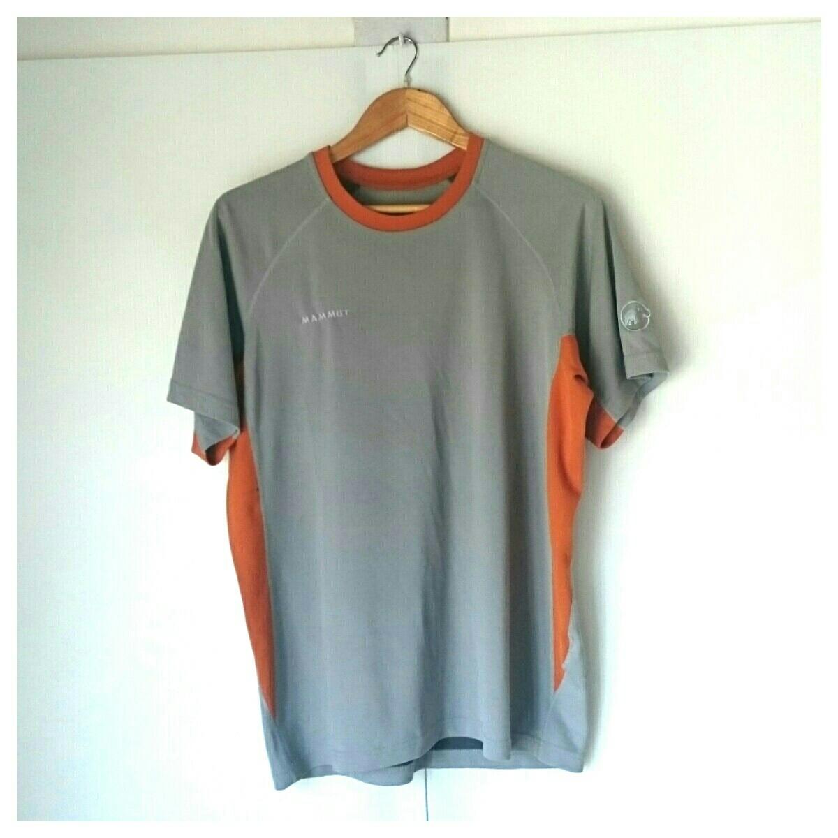 MAMMU T-shirt Mammut size 2XL gray : Real Yahoo auction salling