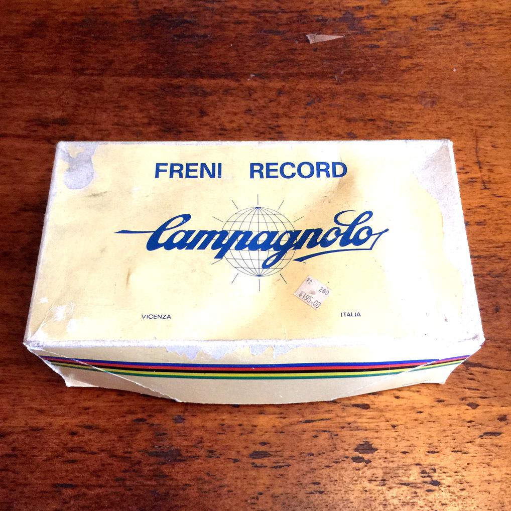 Campagnolo レコード レコードブレーキ 前後【外箱付き】ビンテージ_画像10