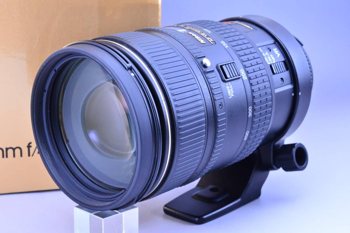 【動作確認のみの未使用品・ほぼ新品】ニコン Nikon AF NIKKOR 80-400mm f4.5-5.6D ED VR 元箱★新品同様コンディションで絶対納得!_画像2
