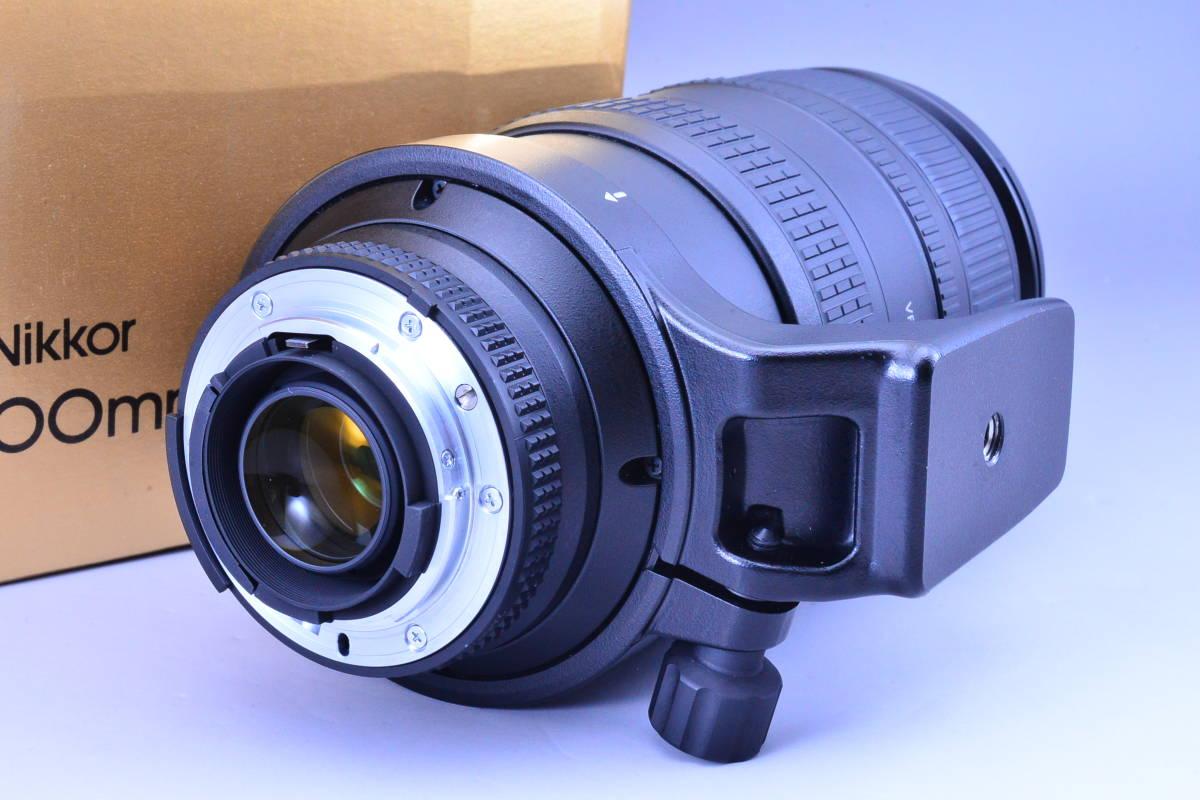 【動作確認のみの未使用品・ほぼ新品】ニコン Nikon AF NIKKOR 80-400mm f4.5-5.6D ED VR 元箱★新品同様コンディションで絶対納得!_画像3