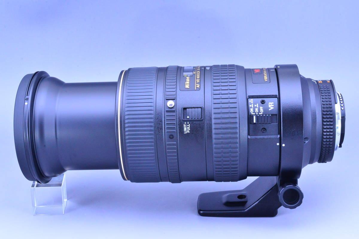【動作確認のみの未使用品・ほぼ新品】ニコン Nikon AF NIKKOR 80-400mm f4.5-5.6D ED VR 元箱★新品同様コンディションで絶対納得!_画像4