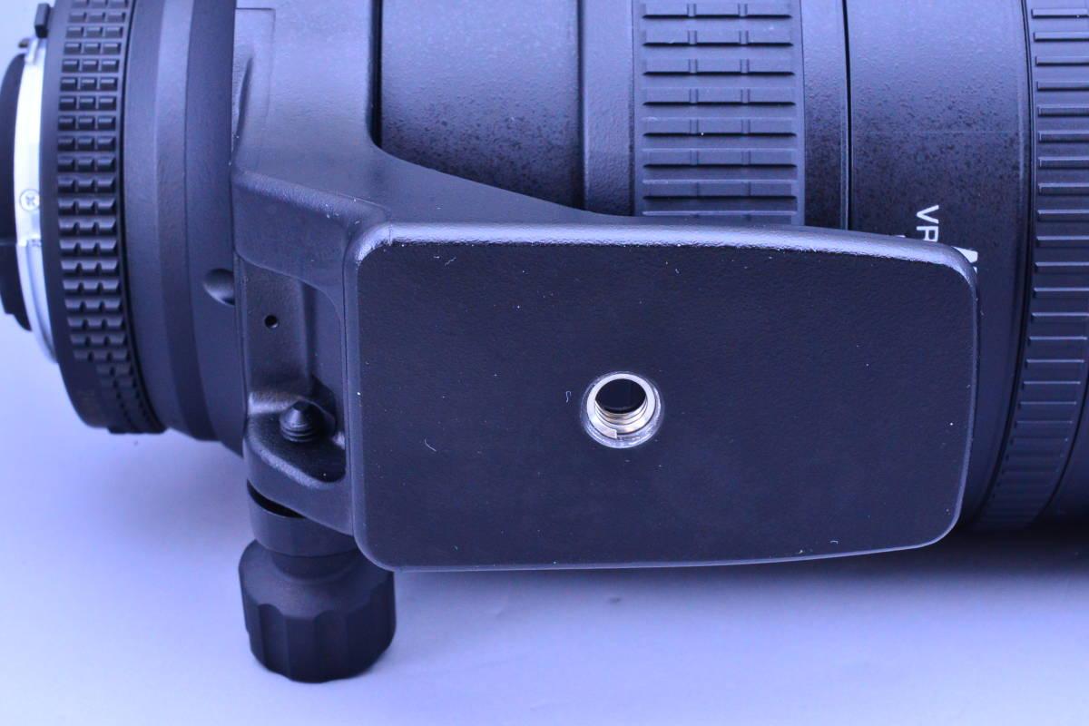 【動作確認のみの未使用品・ほぼ新品】ニコン Nikon AF NIKKOR 80-400mm f4.5-5.6D ED VR 元箱★新品同様コンディションで絶対納得!_画像6