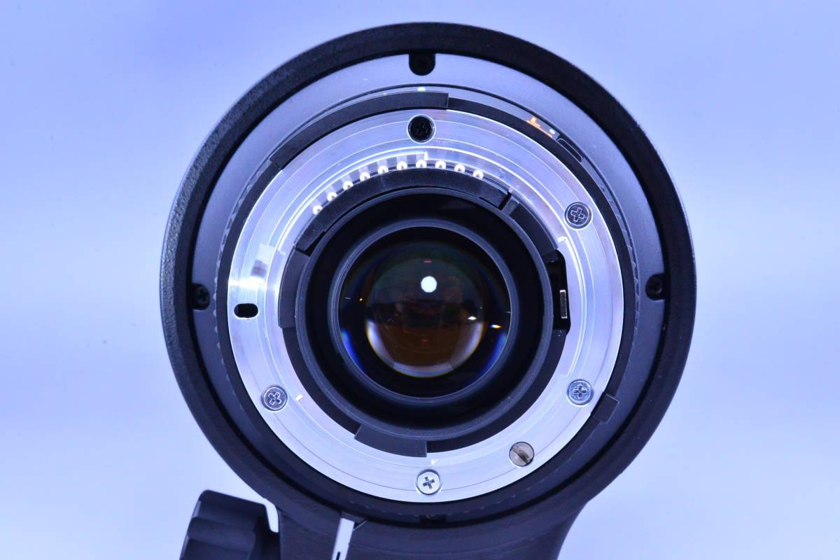 【動作確認のみの未使用品・ほぼ新品】ニコン Nikon AF NIKKOR 80-400mm f4.5-5.6D ED VR 元箱★新品同様コンディションで絶対納得!_画像9