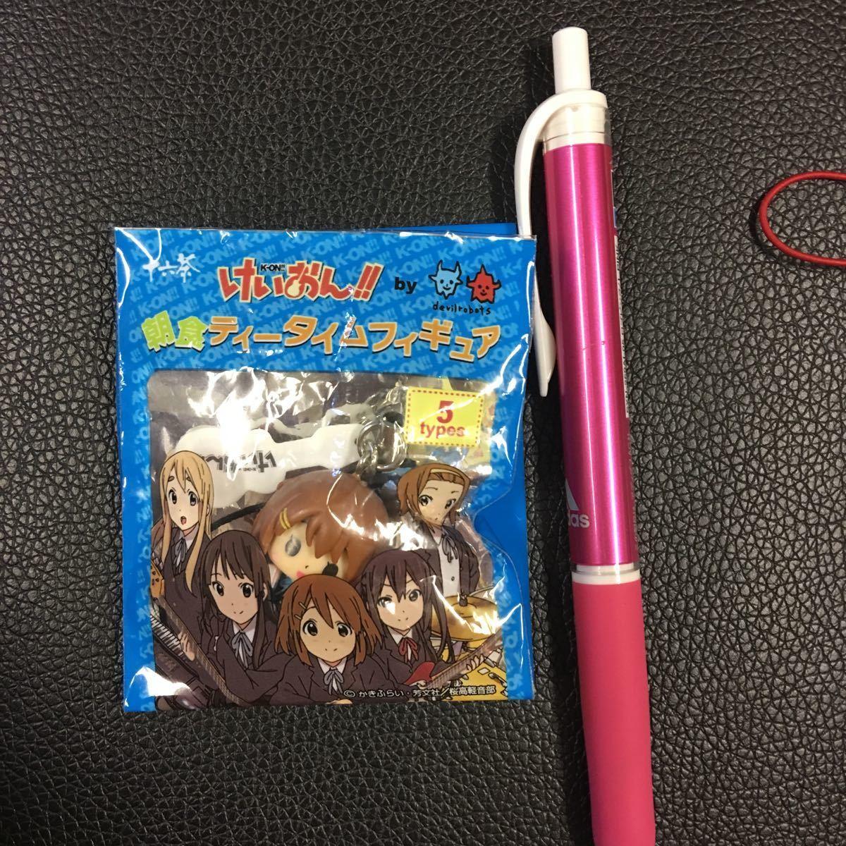 けいおん、朝食ティータイム、ミニフィギュア、平沢唯_画像1
