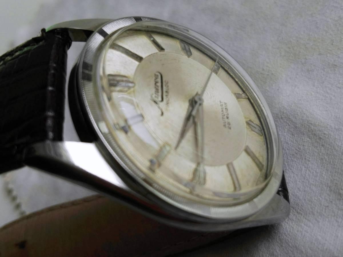 ◇Minerva ミネルバ 自動巻 SS アンティーク 腕時計