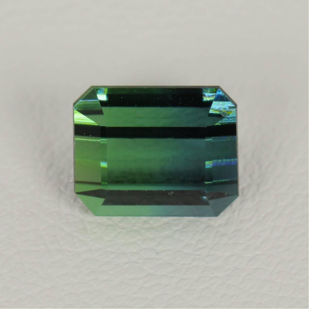 神秘的なカラー『天然バイカラートルマリン』2.45ct アフガニスタン産 ルース 宝石 コレクター必見