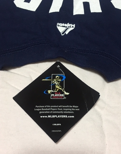 Yankeesヤンキース イチローTシャツ アメリカンMサイズ 2013年にNYタイムズ・スクウェアの公式ショップで購入したもの_画像3