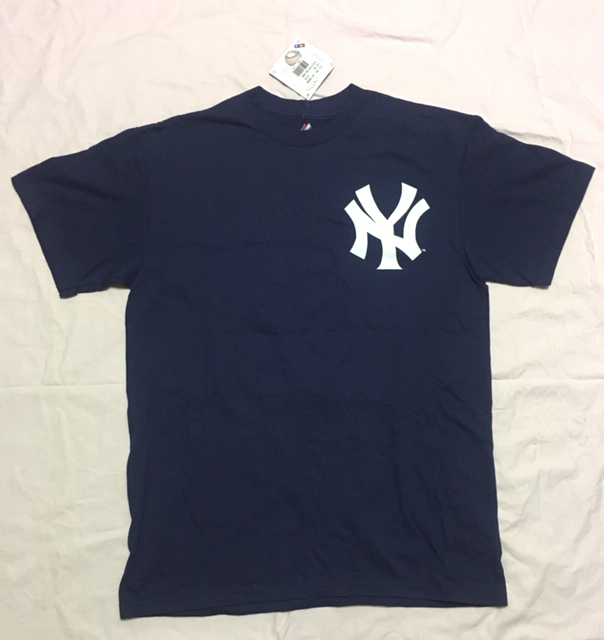Yankeesヤンキース イチローTシャツ アメリカンMサイズ 2013年にNYタイムズ・スクウェアの公式ショップで購入したもの_画像2