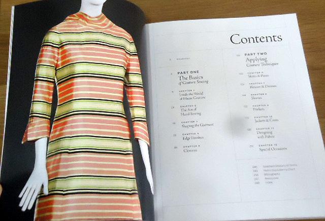 洋裁洋書【オートクチュール縫製テクニック/ Couture Sewing Techniques(輸入品】_画像10