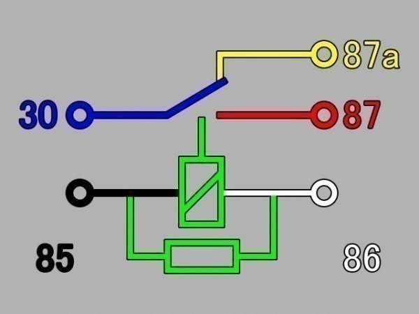 【W-5PR】送料込 送料無料 5極リレー 5ピン 車載リレー C接点 DC12V 検) ハザード フォグ エーモン 2898 代用 修理 HID LED_画像7