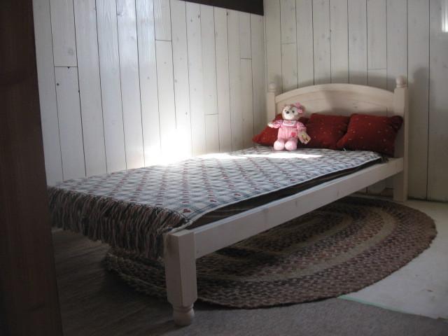 パイン材 シングルベッド スノコベッド 未使用新品 (C)_画像6