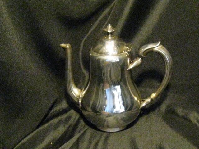 福87 クリストフル ティーポット 銀製 茶器 カトラリー_画像1
