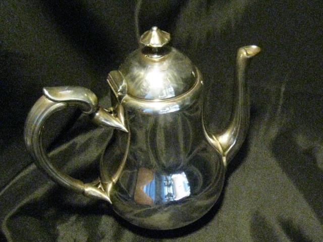 福87 クリストフル ティーポット 銀製 茶器 カトラリー_画像3