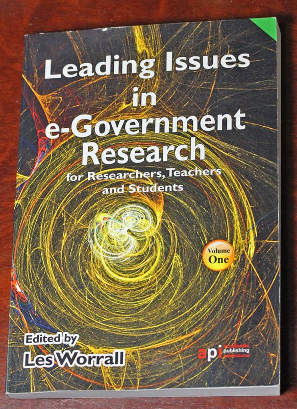 古本 Leading Issues in e-Government Research, Volume One, Academic Publishing International, イギリス, 電子政府_画像1