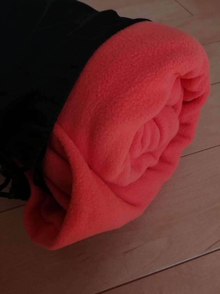 ☆☆ フリース素材の寝袋 オレンジ 送料込み ☆☆
