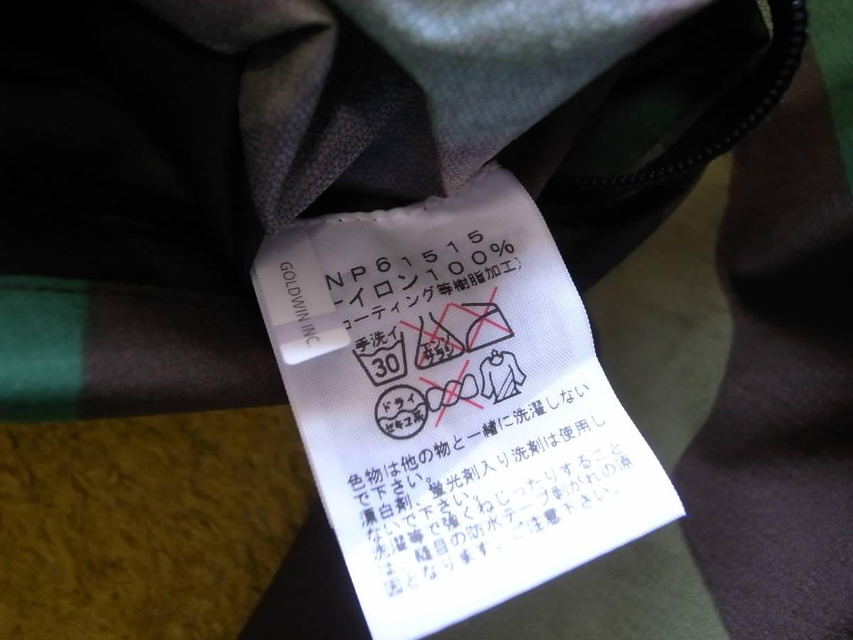 ノースフェイス ノベルティ ベンチャージャケット L ウッドランド/迷彩 NP61515 美品 the north face ナイロン パーカー venture jacket_画像5