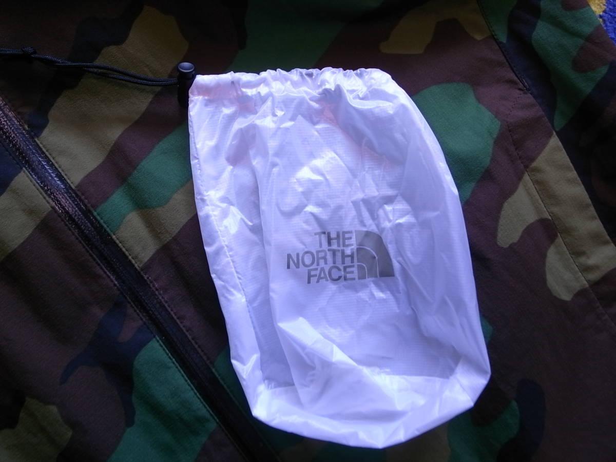 ノースフェイス ノベルティ ベンチャージャケット L ウッドランド/迷彩 NP61515 美品 the north face ナイロン パーカー venture jacket_画像7