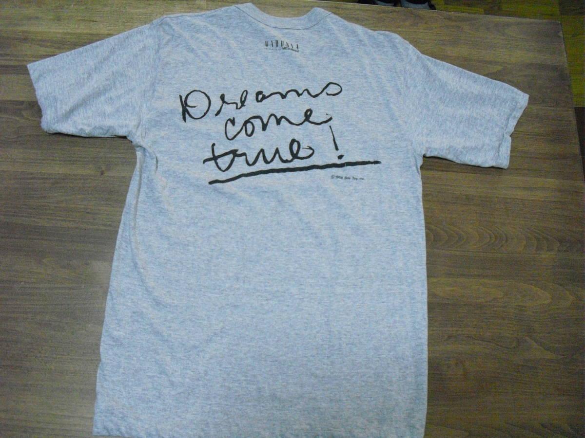 (レア) マドンナ MITSUBISHI Hi-Fi ViDEO Tシャツ (三菱 1988)_画像1