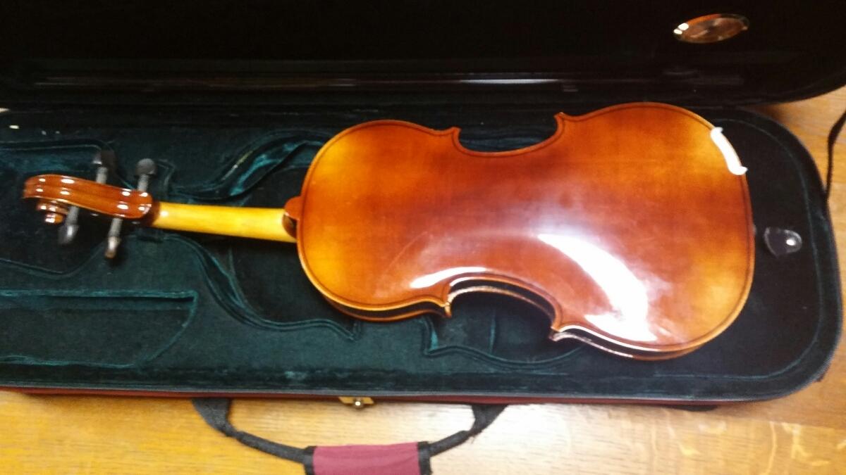アントニオ・ストラディヴァリ/Antonius Stradivarius Cremonensis Faciebat Anno 1713 チェコスロバキア製 バイオリン 4/4_画像2