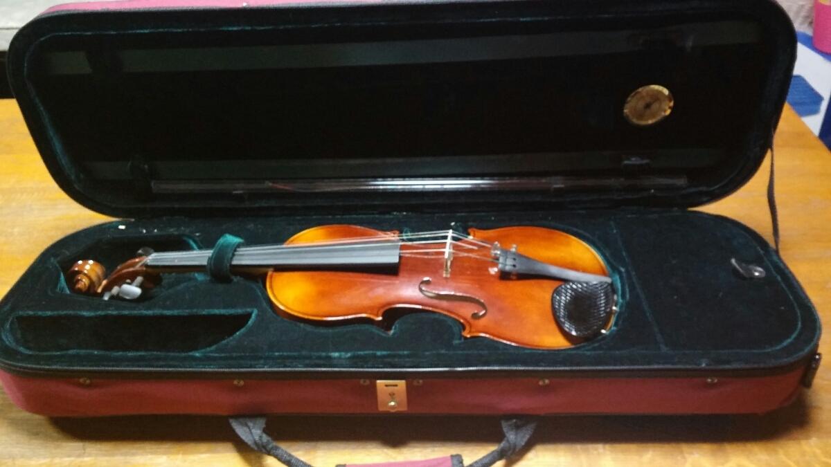 アントニオ・ストラディヴァリ/Antonius Stradivarius Cremonensis Faciebat Anno 1713 チェコスロバキア製 バイオリン 4/4