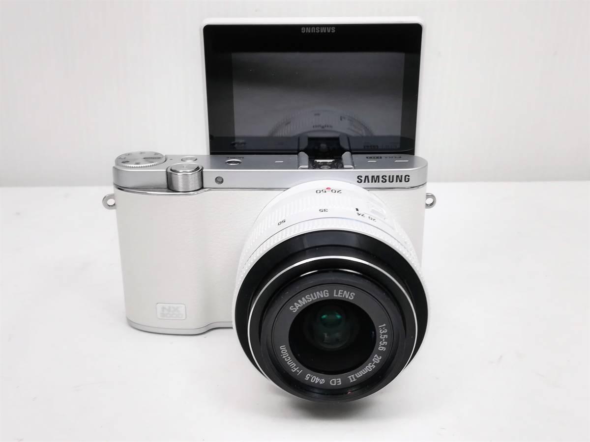 サムスン ミラーレスカメラ レンズセット samsung nx3000 20-50 3.5-5.6mmⅡED_画像2