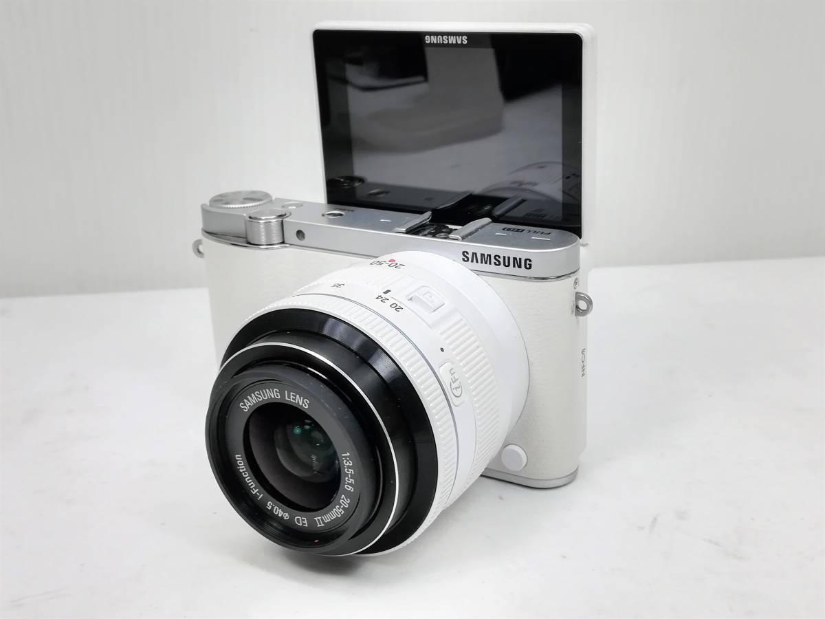 サムスン ミラーレスカメラ レンズセット samsung nx3000 20-50 3.5-5.6mmⅡED_画像4