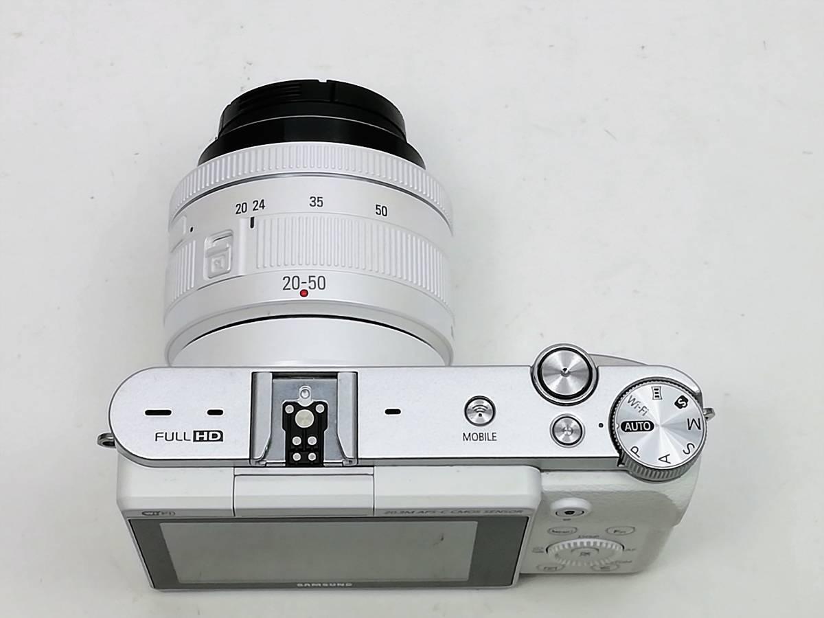 サムスン ミラーレスカメラ レンズセット samsung nx3000 20-50 3.5-5.6mmⅡED_画像5