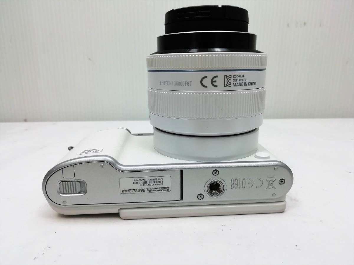 サムスン ミラーレスカメラ レンズセット samsung nx3000 20-50 3.5-5.6mmⅡED_画像6