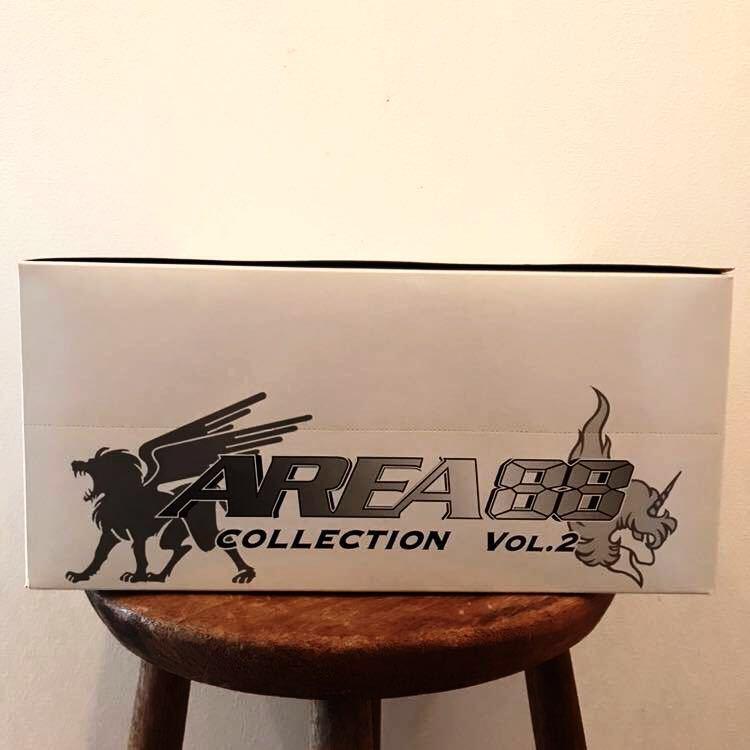 未開封 RIZCO AREA 88 COLLECTION VOL.2 エリア88 コレクション 1BOX 10個入 フィギュア 彩色済簡易組立キット 戦闘機 新谷かおる プラモ_画像6