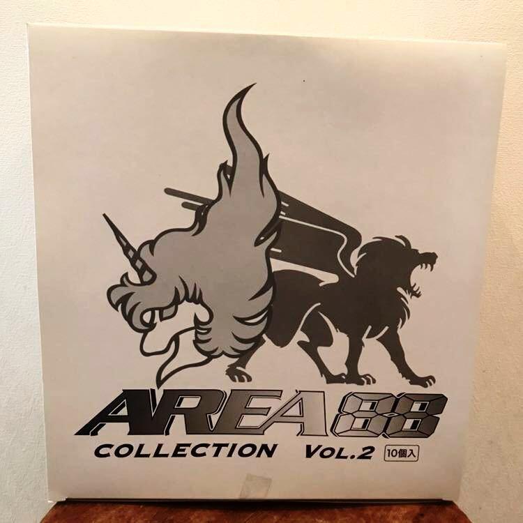 未開封 RIZCO AREA 88 COLLECTION VOL.2 エリア88 コレクション 1BOX 10個入 フィギュア 彩色済簡易組立キット 戦闘機 新谷かおる プラモ